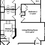 Hickory 3 Bedroom | 2 Bath 1256 sq ft - $ Call For Pricing