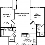 Maple 2 Bedroom | 2 Bath 1018 sq ft - $ Call For Pricing